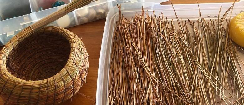 Pine Needle Basket Making Workshop