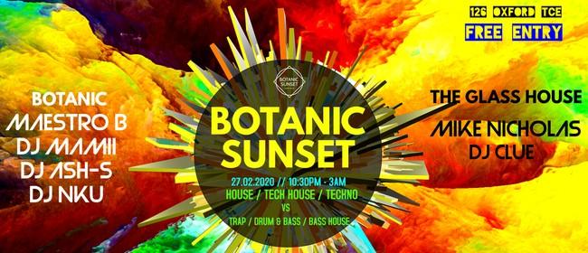 Botanic Sunset