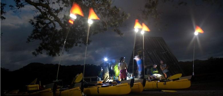 Sunset - Night Kayak to Rangitoto Island with BBQ Dinner