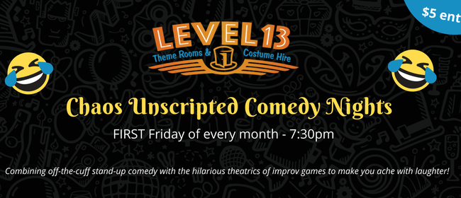 Chaos Unscripted Comedy Nights