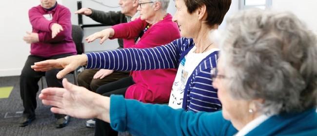 Steady As You Go Exercise Class for Seniors