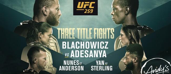 UFC259 & America's Cup