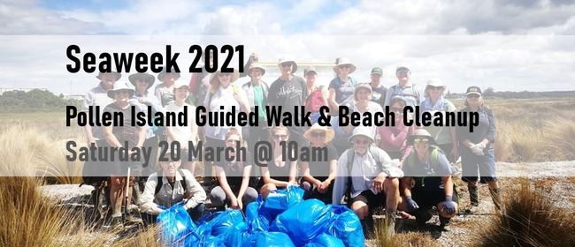 Pollen Island Guided Walk & Beach Cleanup 2021