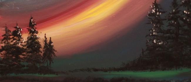 Paint & Chill Thursday Night - Aurora Australis!