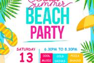 Beach Theme Roller Disco