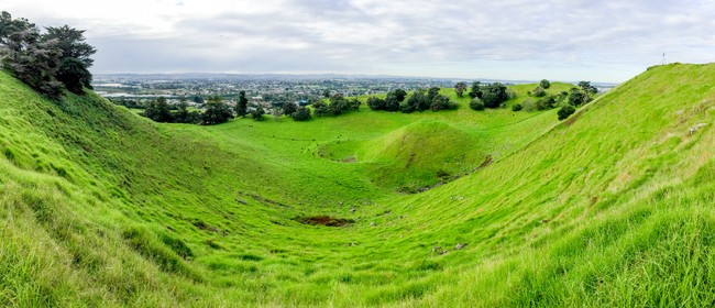 Mangere Mountain Guided Walks