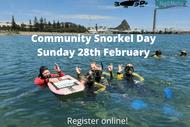 Ngamotu Beach Community Snorkel Day: CANCELLED