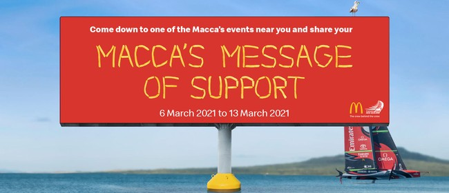 Macca's Messages
