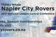 Thirsty Whale Napier City Rovers vs North Wellington