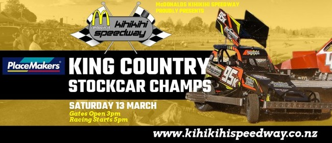 King Country Stockcar Champs & BT Midget Series