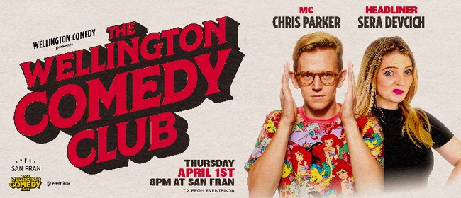 The Wellington Comedy Club, with Chris Parker