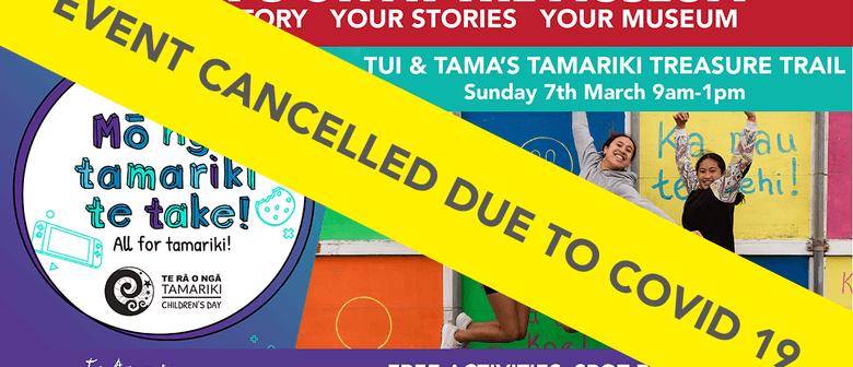 Tui & Tama's Treasure Trail: CANCELLED