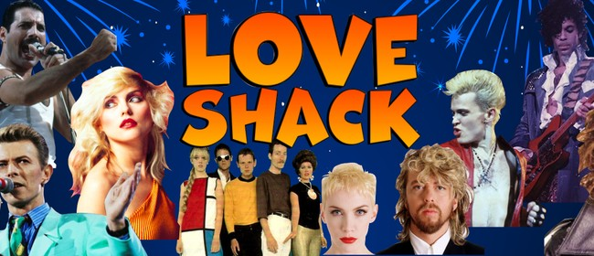 80's Super Band 'Love Shack'
