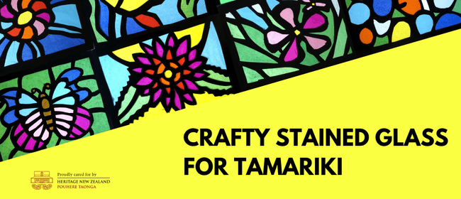 Crafty Stained Glass for Tamariki