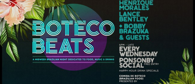 Boteco Beats with Henrique Morales, Lance Bentley & Miguel B