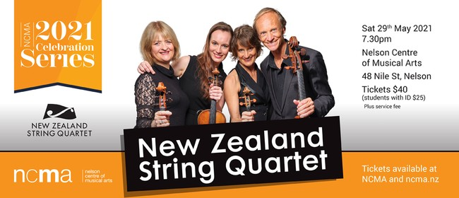 Celebration Series: NZ String Quartet