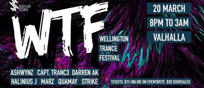 WTF! Wellington Trance Fest