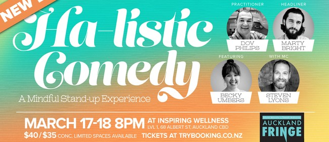 Ha-listic Comedy - A Mindful Stand-up Experience