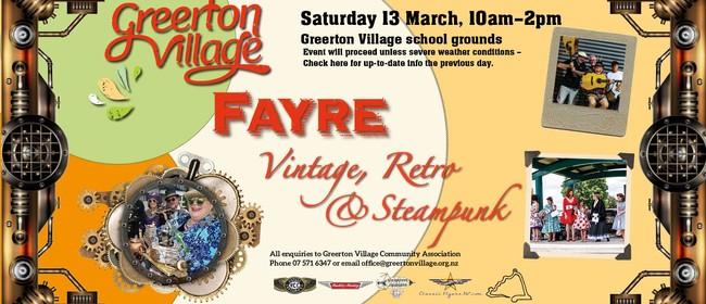 Vintage, Retro & Steampunk Fayre