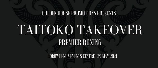 Taitoko Takeover Premier Boxing | LEVIN
