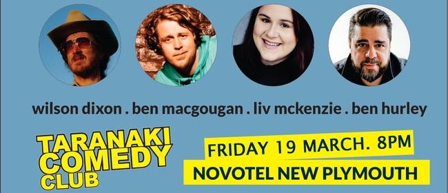 Taranaki Comedy Club - March 2021