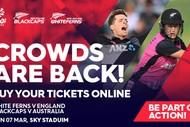 Blackcaps v Australia T20 & White Ferns v England T20