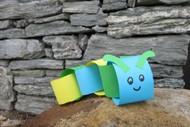 Craft Corner: Paper Chain Caterpillars
