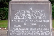 Geraldine ANZAC Day Commemorative Service