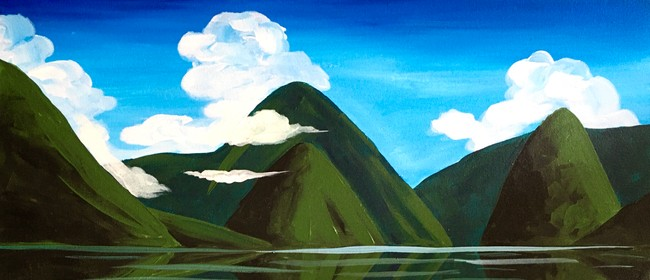 Paint and Wine Night - Milford Sound