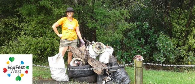 Manutewhau Awa Clean Up - EcoFest West