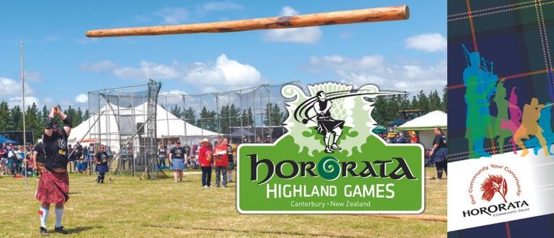 Hororata Highland Games