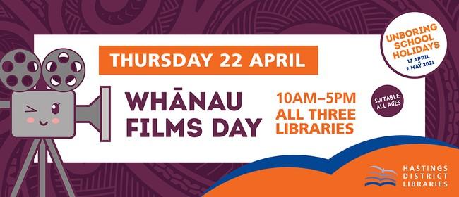 Whānau Films Day