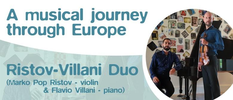 Music through Europe - Ristov-Villani Duo