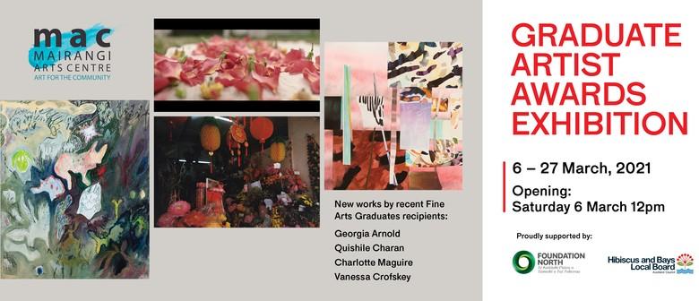 Graduate Artist Awards Exhibition: POSTPONED