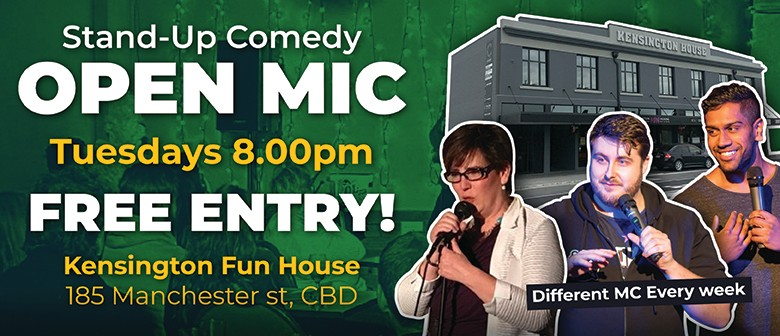 Comedy Open Mic Night