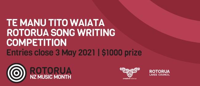 Rotorua Song Writing Competition - Te Manu Tito Waiata