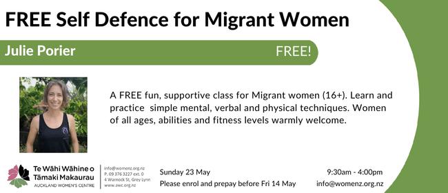 Migrant Women's Self Defence Workshop