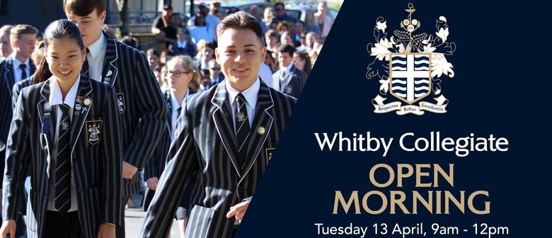 Whitby Collegiate Open Morning