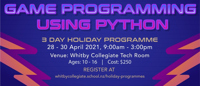 Whitby Collegiate Game Programming Using Python