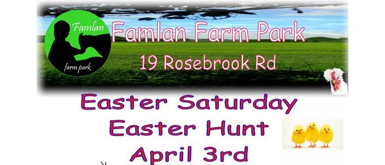 Easter Hunt at Famlan