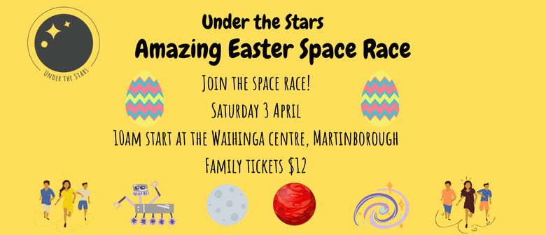 Under the Stars Easter Space Race