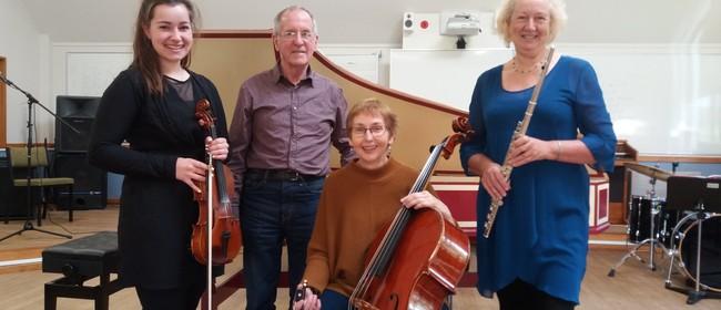 Musicians for the Sarjeant: Tach Baroque Quarter