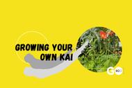 Growing Your Own Kai - Biodiversity