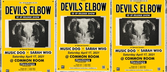 Devils Elbow w/ Special Guests Music Dog + Sarah Wiig