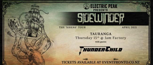 Sidewinder - The 'Sirens' Tour 2021 - Tauranga