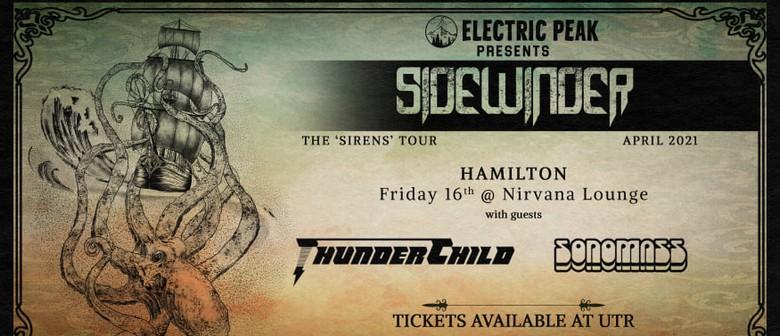 Sidewinder - The 'Sirens' Tour 2021 - Hamilton
