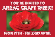 April School Holiday ANZAC Crafts