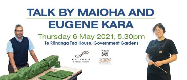 Talk by Maioha and Eugene Kara