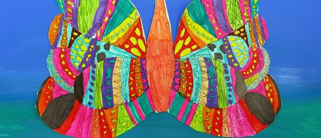 Fantastic Symmetrical Insects-April School Holidays