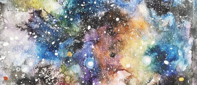 Let's Create a Magical Galaxy -School Holiday Art